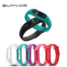 <b>BUMVOR</b> Xiaomi Mi <b>Band</b> 2 Wrist <b>Strap Belt Silicone</b> Colorful ...