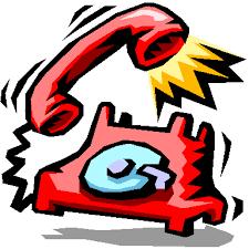 Cartoon Phone Ringing Image