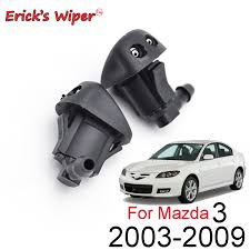 Erick's Wiper <b>2Pcs</b> Front Windshield Wiper Washer Jet Nozzle For ...
