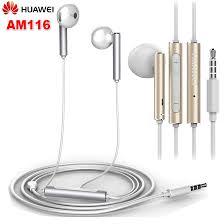 <b>Original HUAWEI Honor am116</b> Earphone Metal Earpiece headset ...