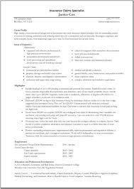claims adjuster resume examples resume examples  claims