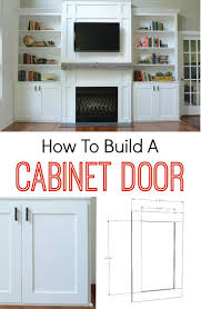 ideas diy cabinets pinterest bathroom how to build a cabinet door its easier than you think