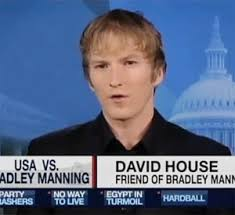 Friend of Manning, David House. June 16th, 2011 | Category: Wikileaks Witness Pleads the Fifth » - David-House