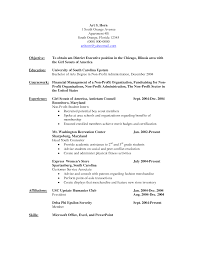 resume objective for financial services examples great customer resume objective for financial services examples great customer service good nonprofit resume objective equations solver resume