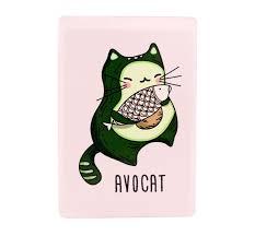 <b>Kawaii Factory Держатель</b> для проездного Avocat - Акушерство.Ru