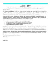 Best Marketer Cover Letter Examples | LiveCareer Marketing Cover LetterModern 6 Design