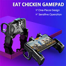 K21 <b>PUBG Mobiele</b> Gamepad Joystick Metalen L1 R1 Trigger Game ...
