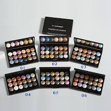 code mac 18 color eyeshadow