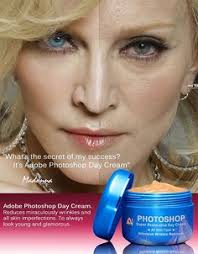adobe photo day cream i had to laugh but madonna is beautiful without makeup yesss she is lt 3