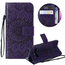 <b>PU Leather Wallet Case</b> for Samsung Galaxy S10E, Red Phone ...