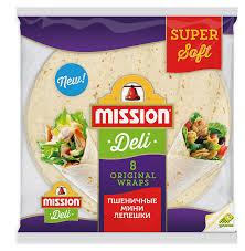 Купить <b>Лепешки пшеничные Mission</b> Deli Тортильи ...