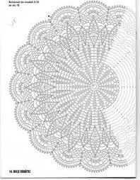"с ""ананасами"" | handicraft | Crochet tablecloth pattern, Crochet doily ..."