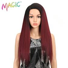 2019 <b>Magic Hair</b> Synthetic <b>Wigs</b> For Black Women 28 Inch 70cm ...