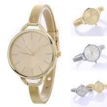Простые часы женские кварцевые часы из <b>нержавеющей стали</b> ...