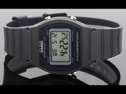 <b>Casio W</b>-<b>202</b>-<b>1A</b> видео обзор настройка - YouTube