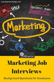 17 best ideas about marketing interview questions marketing interview questions for graduates everydayinterviewtips com marketing