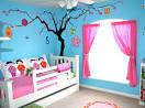 Modele de peinture pour chambre d'enfant