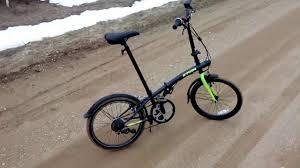 Первые впечатления о <b>складном</b> велосипеде <b>BTwin</b> Hoptown 320 ...