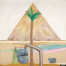 The work was completed in 1963 shortly after the artist returned from his overseas trip, commissioned by art critic David Sylvester and journalist Mark ... - o-DAVID-HOCKNEY-AUCTION-570