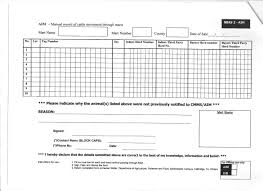 ballybofey stranorlar mart aim manual record of cattle movement through marts nbas 2 aim
