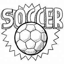 Small Picture Soccer Ball Coloring Page For Kids Kids soccer Soccer ball and