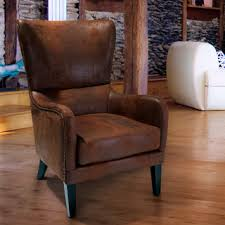 lorenzo fabric studded club chair by christopher knight home chairs living room