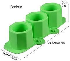 <b>Plant Flower Pot Silicone Molds</b> Ceramic Clay Mold DIY Succulent ...