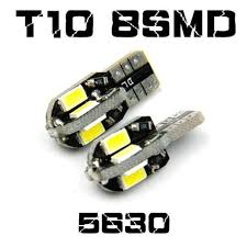 <b>2pcs</b>/<b>Lot Canbus T10</b> 8smd 5630 5730 <b>LED</b> Car Light <b>Canbus</b> SMD ...