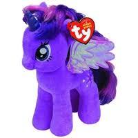 <b>Мягкая игрушка Пони</b> Twilight Sparkle (33 см) (3+) (Beanie Original ...