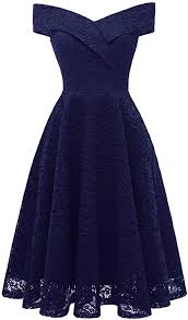 ANCHOVY <b>Womens Floral Lace</b> Cocktail Party Dress <b>Vintage</b> Off