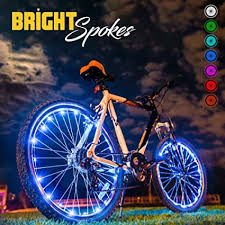 Bright Spokes Premium LED Bike Wheel Lights - 7 ... - Amazon.com