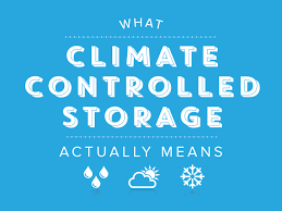 What does climate-controlled storage actually mean? | storEDGE