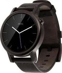 Купить <b>Умные часы Motorola Moto</b> 360 42mm Black по выгодной ...