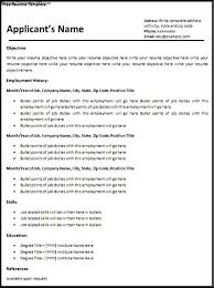 resume templates reseme format impressive work history 93 remarkable job resume templates