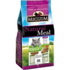 <b>MEGLIUM ADULT</b> Корм для кошек говядина курица овощи