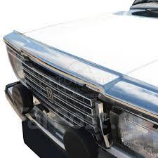 <b>Дефлектор</b>-<b>отбойник</b> на капот на ВАЗ 2107, хром - GT и тюнинг в ...