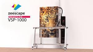 Zeescape <b>Vertical</b> Surface Printer - VSP1000 - YouTube