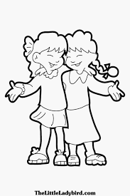 Small Picture friendship coloring pages for preschool Archives Best Coloring Page
