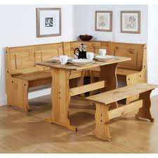 Kitchen Table With Benches Set Kitchen Rectangle Kitchen Table With Bench Also Charming Dining