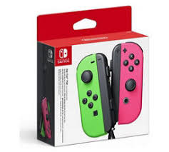 <b>Nintendo</b> Switch <b>Joy</b>-<b>Con</b> Controller <b>Pair</b> (Neon Green And Neon Pink)
