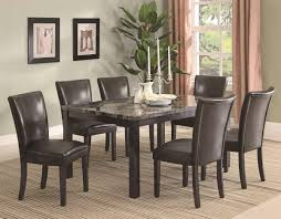 cappuccino finish dining table sets