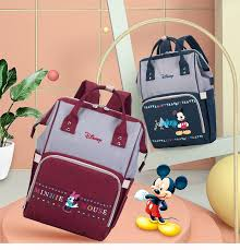 <b>Disney New Fashion</b> Baby Bags For <b>Mom</b> Large Capacity <b>Mother</b> ...