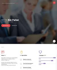 20 best wordpress resume themes for your personal website best personal resume vcard wordpress theme mi