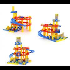 Игрушки Полесье <b>Паркинг</b> гараж 3-<b>уровневый Wader</b> 37893 ...