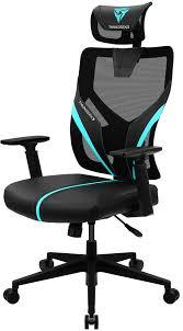 Игровое <b>кресло ThunderX3 Yama1</b>, черный, синий