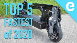 Top 5 fastest <b>electric scooters</b> of 2020 - YouTube