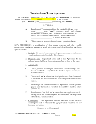 8 termination of lease agreement letter template word 8 photos of the 8 termination of lease agreement