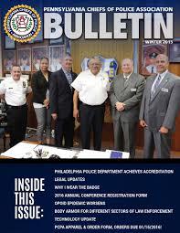 PCPA Bulletin <b>Winter</b> 2015 by PA Chiefs of Police Association - issuu