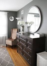 gray walls and dark brown furniture work benjamin moore amherst grey bedroom colors brown furniture