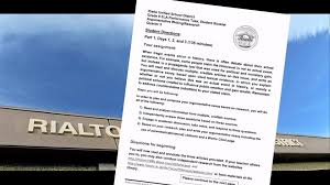 rialto assignment asking students to question holocaust to be an eighth grade assignment shown raised questions from a jewish civil rights group document and photo credit san bernardino sun